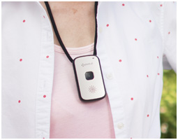 Wearable emergency button for the elderly