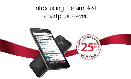 Smartphone For Seniors Jitterbug Smart2 Greatcall