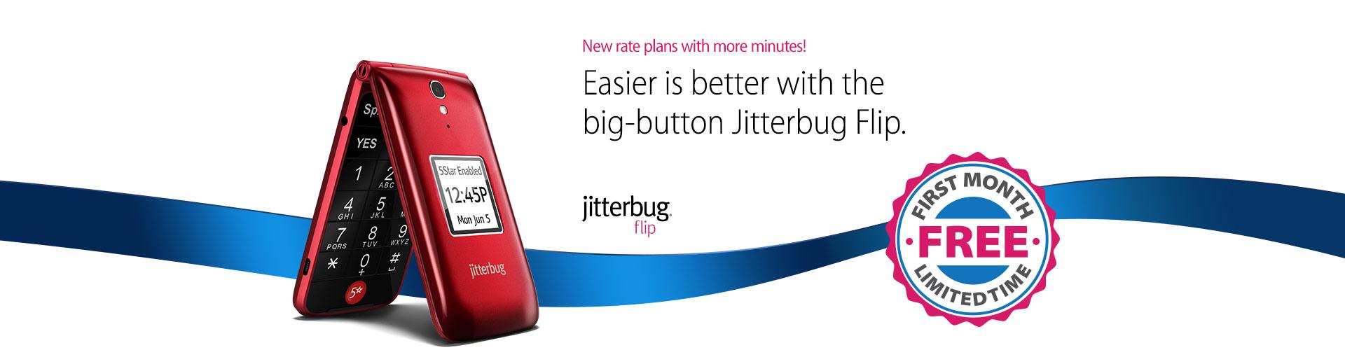 Jitterbug Flip | Best Basic Big Button Cell Phone for Seniors