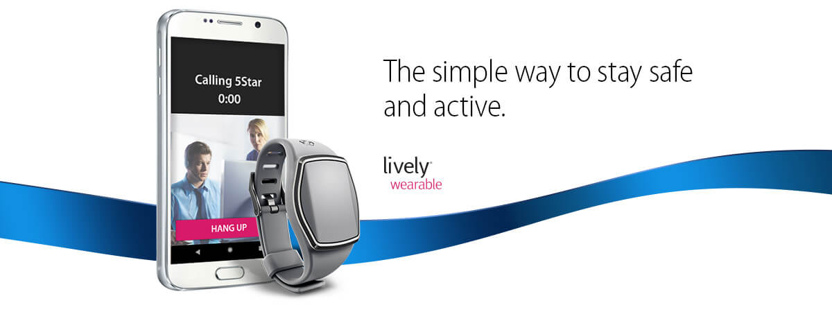 Wearable Medical Alert Device   Fitness Tracker for Seniors   GreatCall