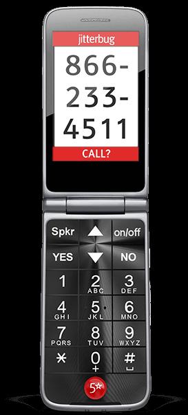 Jitterbug Flip Best Basic Big Button Cell Phone For Seniors