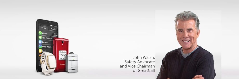 John Walsh, Safety Advocate and Vice Chairman of GreatCall, the company behind the Jitterbug, Splash, and Lively Wearable devices