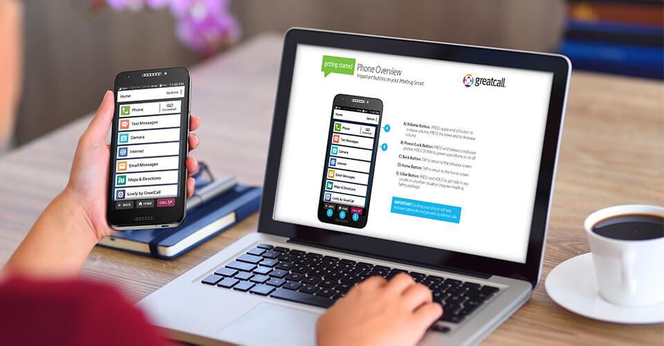 Smartphone for Seniors | Jitterbug Smart2 | GreatCall